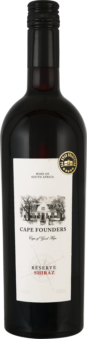 Rotwein Cape Founders Shiraz Reserve Western 10,53€ pro l