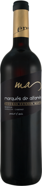 Bodegas Esteban Martín Marqués de Alfamén Reserva DOP