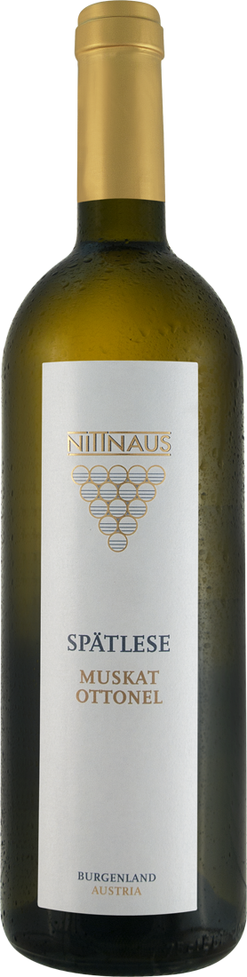 Weißwein Nittnaus Muskat Ottonel Spätlese Burgenland 14,53? pro l