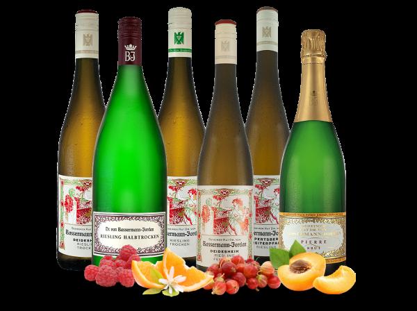 cheapest price newest best sell Kennenlernpaket Bassermann-Jordan aus der Pfalz mit 6 Fl.