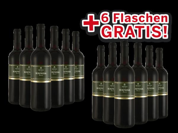 Vorteilspaket 12 für 6 Messias Surpresa Reserva Douro