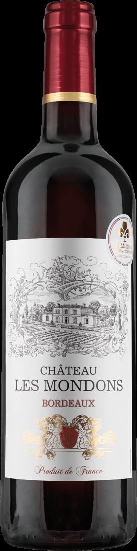 Rotwein Château Les Mondons Bordeaux AOP Bordeaux 7,99€ pro l