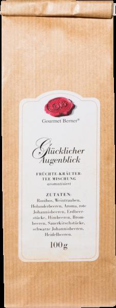 Gourmet Berner Glücklicher Augenblick Kräuter-Früchtetee 100g Beutel