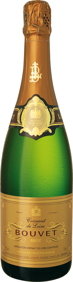 Weißwein Bouvet Ladubay Crémant de Loire Cuvée dOr Brut AOC 15,32€ pro l