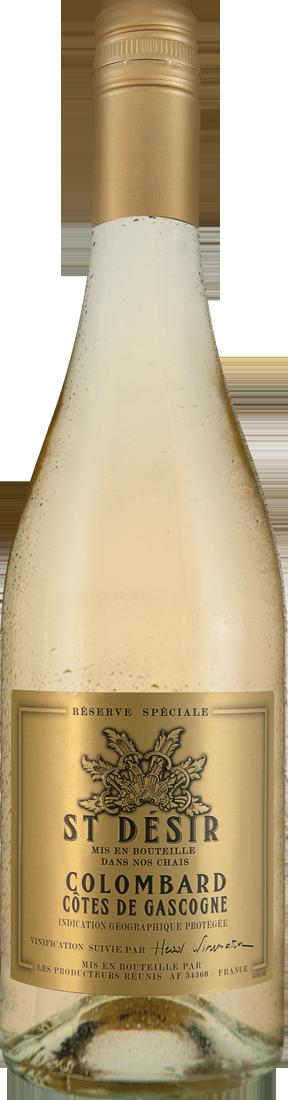 Weißwein St. Désir Blanc Réserve Spéciale IGP Gascogne 7,99? pro l
