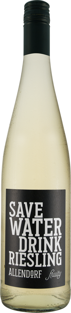 Weißwein Allendorf Save Water Drink Riesling fruity QbA Rheingau 9,33€ pro l