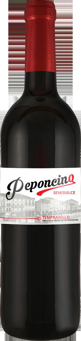 Rotwein Viñaoliva Tempranillo Peponcino semidulce Extremadura 6,65? pro l