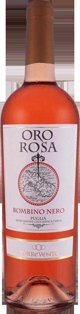 Roséwein Torrevento Bombino Nero Oro Rosa Puglia IGT Apulien 9,32? pro l