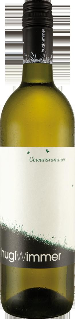 Weißwein Hugl-Wimmer Gewürztraminer lieblich Weinviertel 11,87? pro l