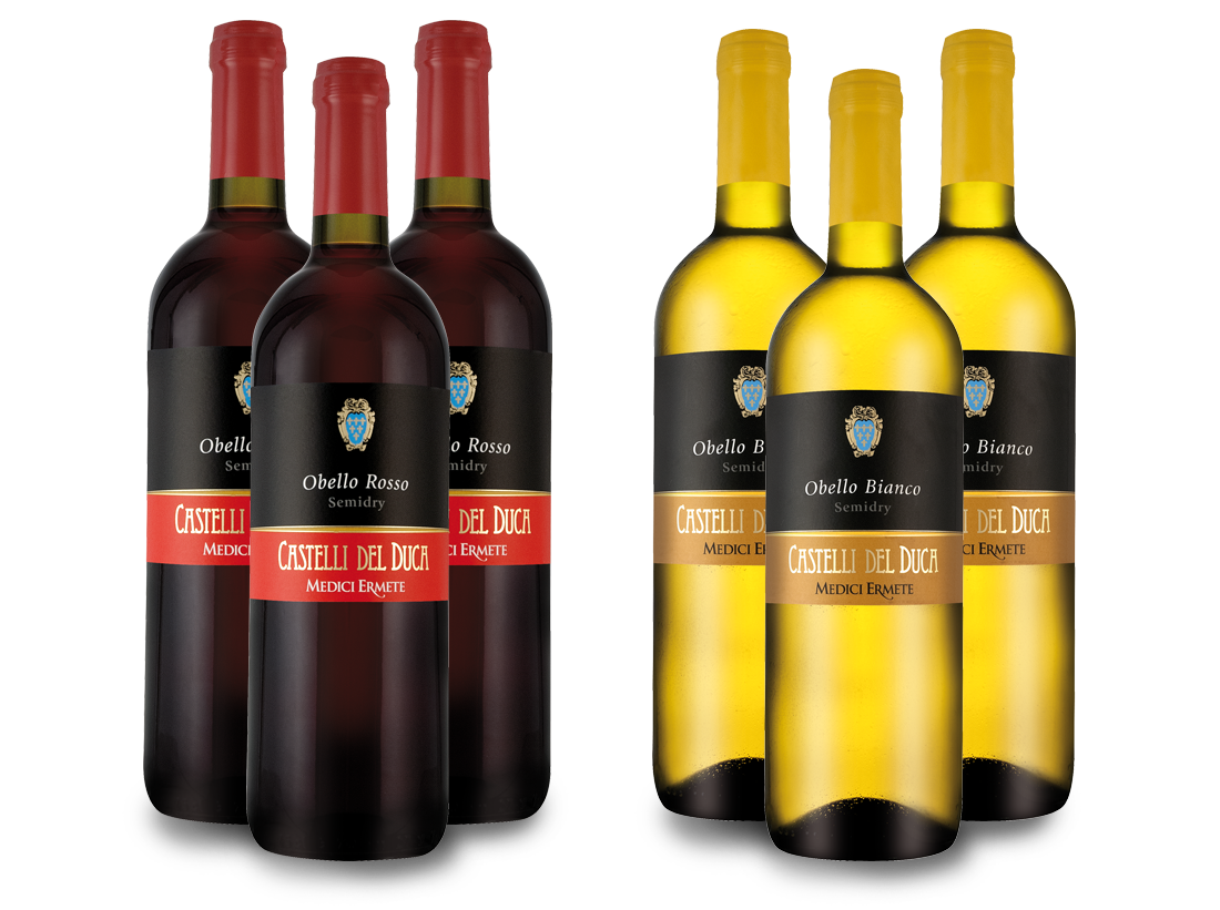 Probierpaket Medici Ermete Castelli del Duca mit je 3 Flaschen6,66€ pro l