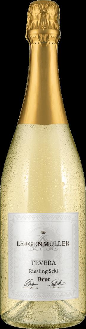 Weißwein Lergenmüller Riesling Sekt Minerva / Tevera Brut22,65? pro l