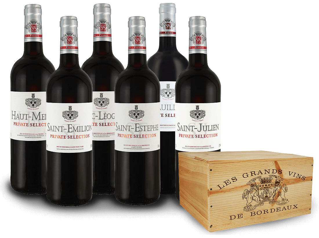 Schröder & Schÿler Bordeaux-Paket Private Selection17,76? pro l