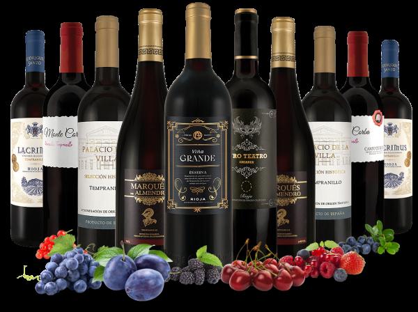 Probierpaket Spanische Weinkunst