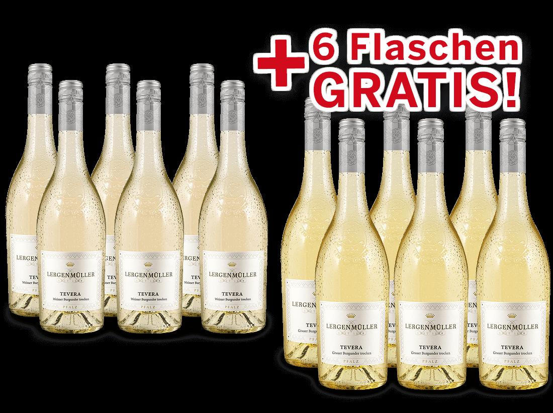 Vorteilspaket Lergenmüller Weißburgunder & Grauburgunder TEVERA8,89? pro l