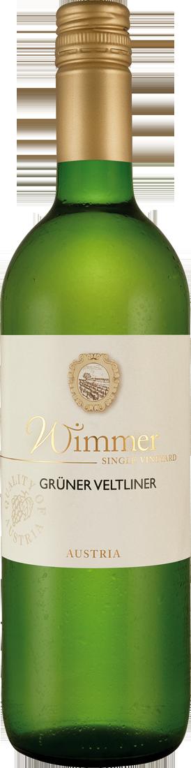 Weißwein Wimmer Grüner Veltliner Niederösterreich 7,99? pro l