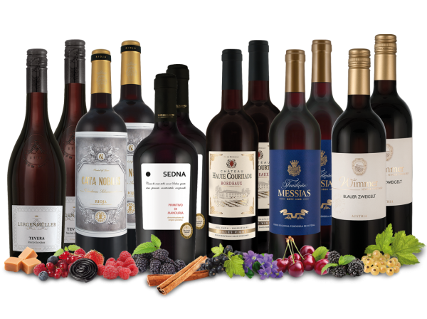 Vorteilspaket Schwarzmarkt mit 12 Flaschen