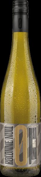 Kolonne Null Riesling Weißwein alkoholfrei
