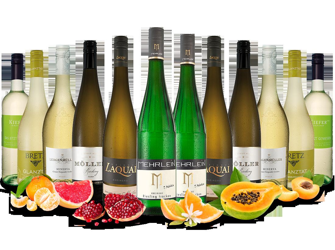 Best of Deutschland Weißwein Entdeckerpaket7,78€ pro l