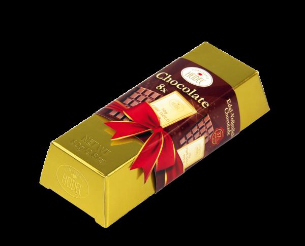 Confiserie HEIDEL Großer Gold-Barren 80 g