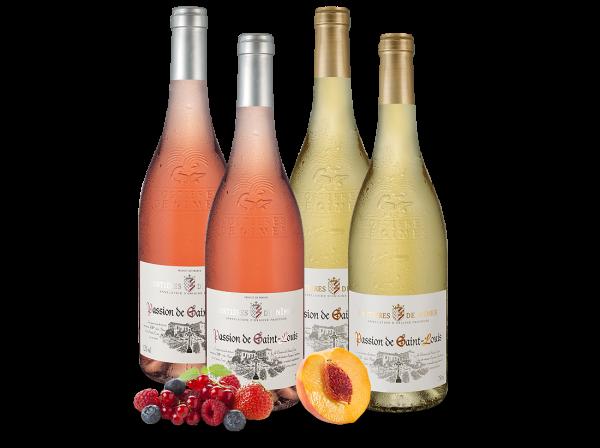 Kennenlernpaket Weiß- & Roséweine Joseph Castan aus Südfrankreich mit je zwei Flaschen