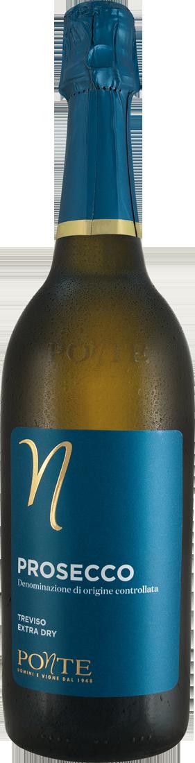 Weißwein Viticoltori Ponte Prosecco Spumante Extra Dry DOC Venetien 13,20? pro l