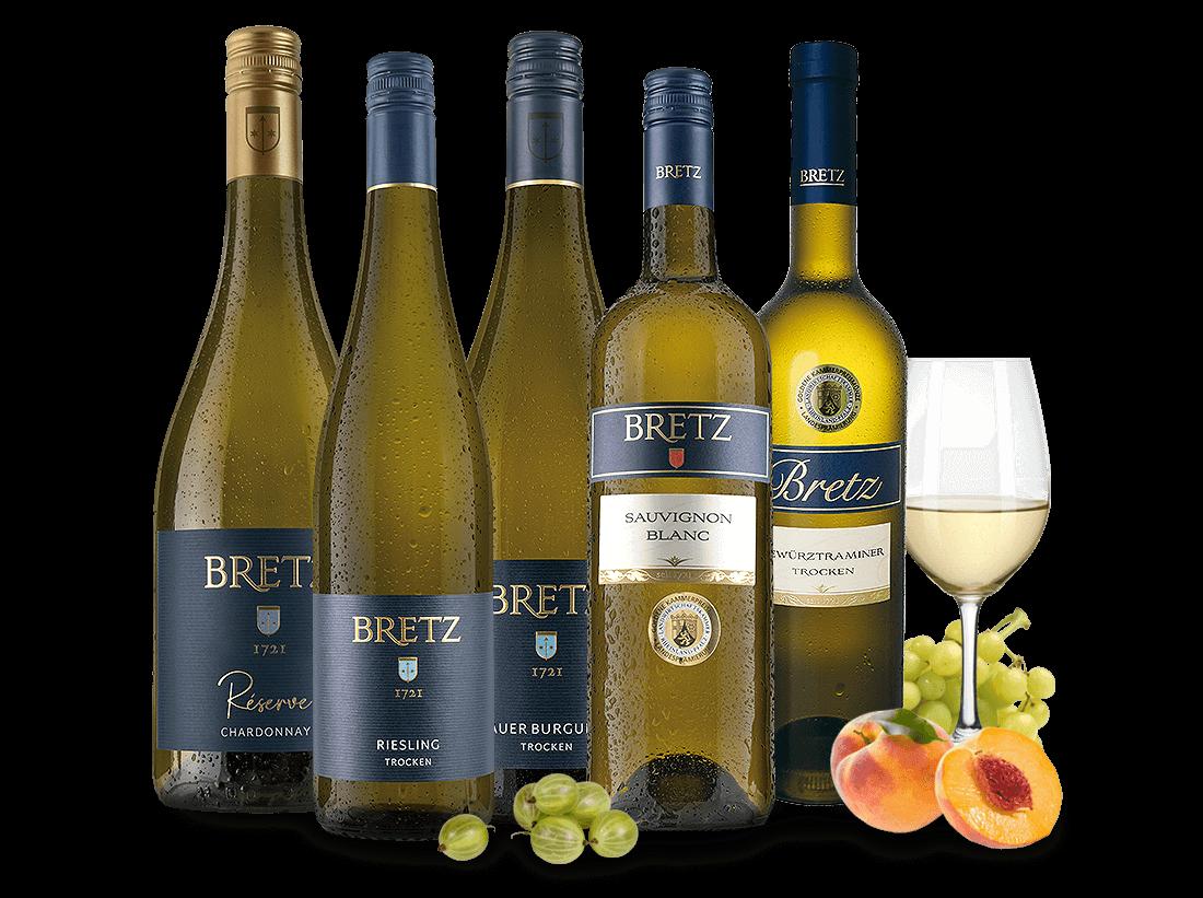 Ernst Bretz Weißwein-Probierpaket trocken10,66€ pro l