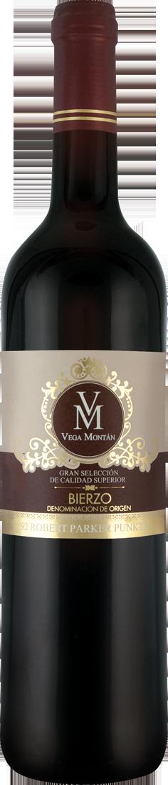 Rotwein Vega Montán Gran Selección de Calidad Superior D.O. Bierzo 10,65€ pro l