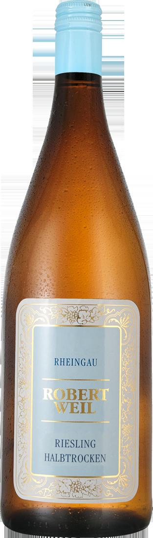 Weißwein Robert Weil Riesling halbtrocken 1l Rheingau 12,40€ pro l