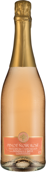 Bretz Pinot Noir Rosé Sekt extra trocken