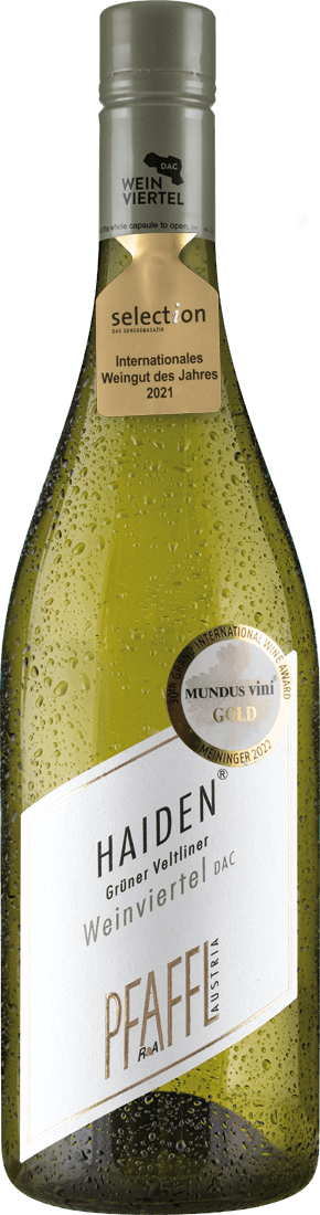 Weißwein Pfaffl Grüner Veltliner Weinviertel HAID DAC Weinviertel 12,39? pro l