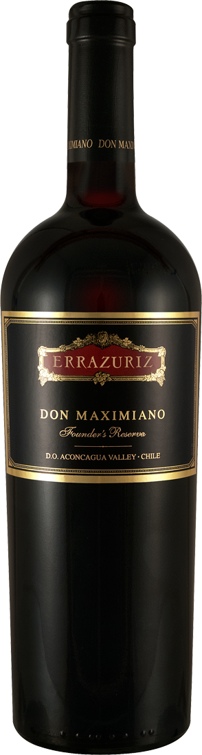 Rotwein Errazuriz Don Maximiano Founders Reserve Aconcagua Valley 73,32€ pro l