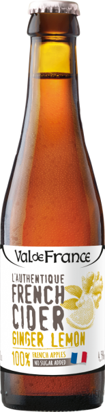 Les Celliers Associés L'Authentique French Cider Ginger-Lemon 0,33l