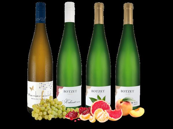 Kennenlernpaket Moselrieslinge vom Weingut Botzet