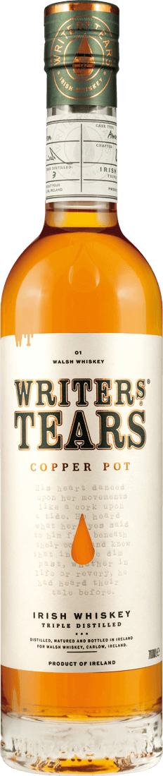 Writers Tears Copper Pot Irish Whiskey 40% vol.47,00? pro l