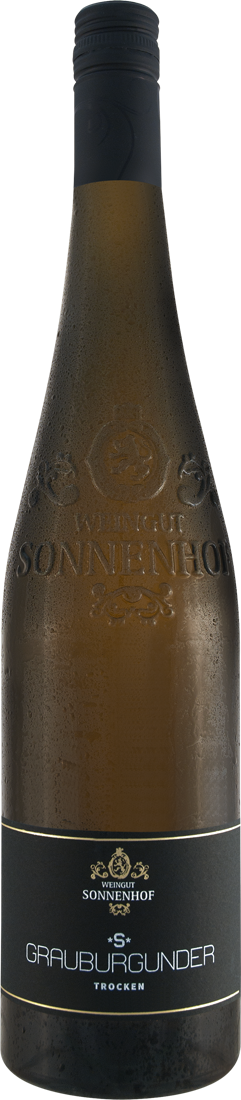 Weißwein Sonnenhof Grauburgunder S Gündelbacher Wachtkopf Württemberg 16,00? pro l