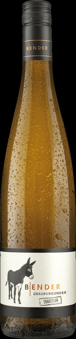 Weißwein Bender Grauburgunder Tradition QbA Pfalz 7,99€ pro l