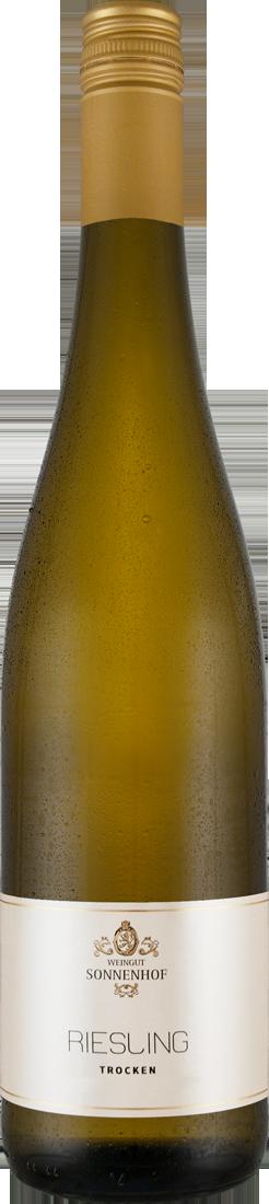 Weißwein Sonnenhof Riesling trocken QbA Württemberg 9,33? pro l