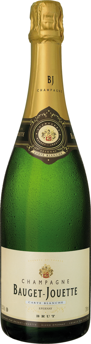 Weißwein Champagner Bauget-Jouette Brut Carte Blanche Champagne 30,65€ pro l