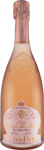 Cà dei Frati Rosé Cuvée dei Frati Spumante Brut VSQ Metodo Classico