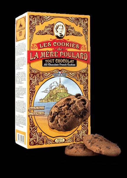 La Mère Poulard Les Cookies tout Chocolat 200 g