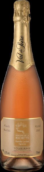 Domaine de la Rochette Fines Bulles Rosé Sec Touraine Méthode Traditionelle