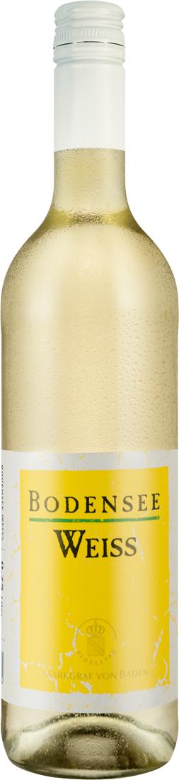 Weißwein Markgraf von Baden Bodensee Weiss halb...