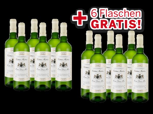 Vorteilspaket 12 für 6 Schröder & Schÿler Château Naudeau Blanc