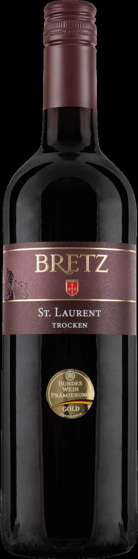 Rotwein Ernst Bretz St. Laurent trocken QbA Rheinhessen 10,65? pro l