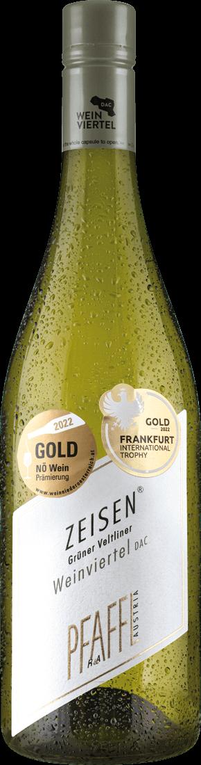 Weißwein Pfaffl Grüner Veltliner Weinviertel ZEISEN DAC Weinviertel 11,59? pro l