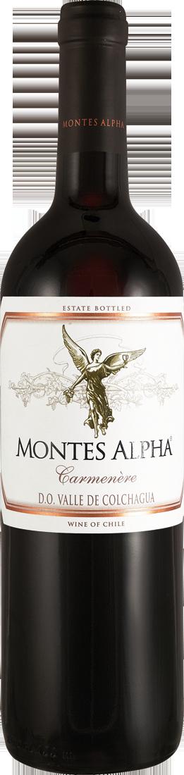 Rotwein Montes Alpha Carménère Colchagua Valley 17,32€ pro l