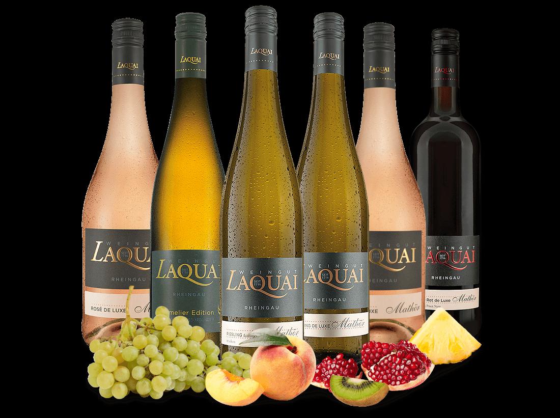 Kennenlernpaket Weingut Laquai aus dem Rheingau11,09? pro l