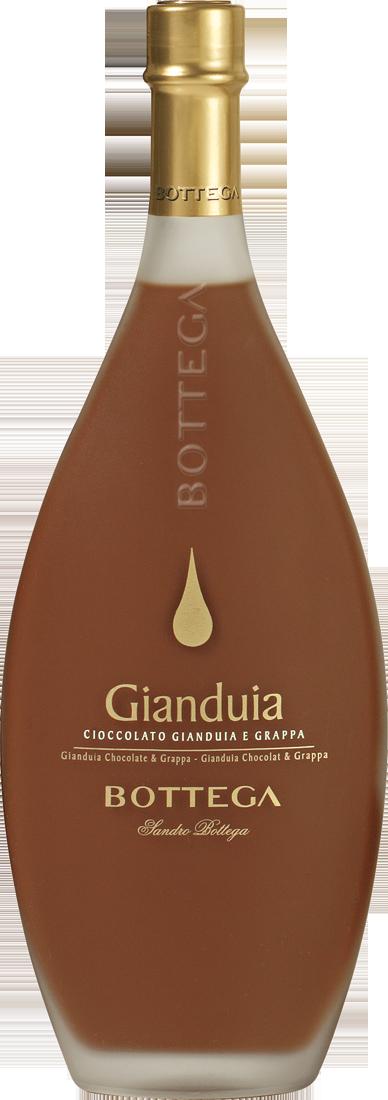 Bottega Gianduia Schokoladenlikör mit Nougat 17% vol. 0,5l Venetien 29,98€ pro l