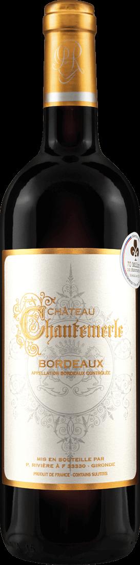 Rotwein Château Chantemerle Bordeaux AOC Bordeaux 9,32? pro l