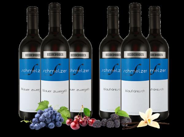 Vorteilspaket Blaufränkisch und Blauer Zweigelt vom Weingut Schmelzer